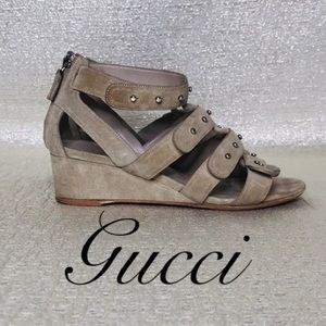 100% AUTHENTIC GUCCI 'SIGOURNEY' GLADIATOR SANDAL